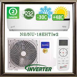 Neoclima NS/NU-18EHTIw2 до 52 кв.м. инверторный кондиционер до -30С на обогрев