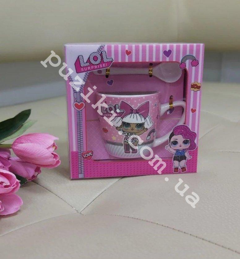 Детская кружка в подарочной упаковке Lol