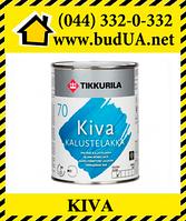 Лак Кива для мебели полуглянцевый, ЕР 0,9 л