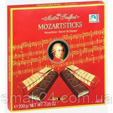 Шоколад темный Mozartsticks Maitre Truffout Австрия 200 г