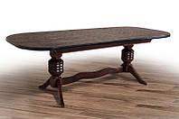 Стол обеденный Гетьман орех (Микс-Мебель ТМ)