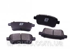 Колодки тормозные задние Renault Fluence, Megane III, Scenic III 08- (Bosch) ( SOLGY ) 209077