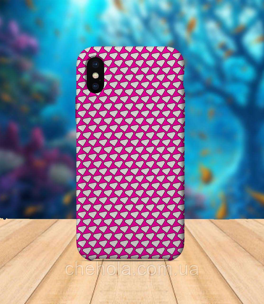 Чехол для apple iphone x XS max Бриллиант чехол с принтом