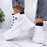Жіночі черевики ДЕМІ білі еко шкіра весна/ осінь, фото 7