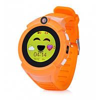 Детские умные часы с GPS и прослушкой Smart Baby Watch Q360 с камерой и фонариком Orange