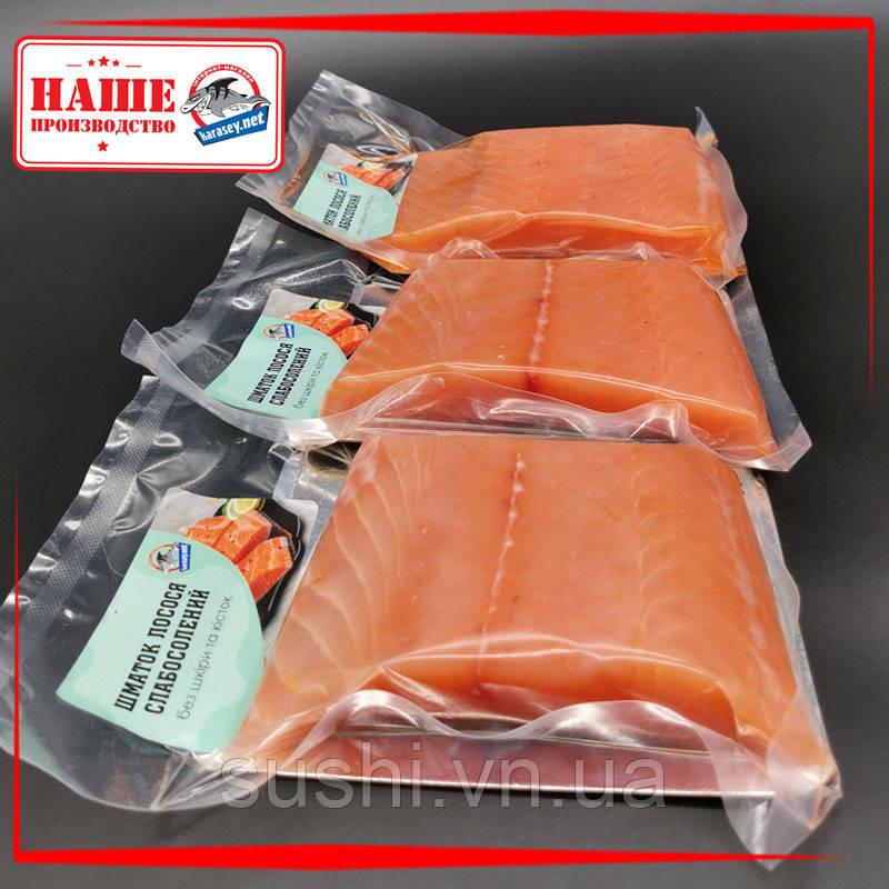 Филе лосося (сёмги) с/с в вакууме