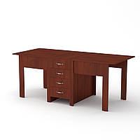 Стол обеденный раздвижной. Стол книжка 3 компанит. СТОЛ-КНИЖКА-3 ш: 800 мм. в: 750 мм г: 532 мм