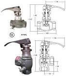 Клапан струбцины Rego A7708L для газовозов, фото 3