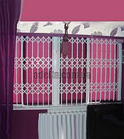 Решетки раздвижные на окна Шир.2900*Выс1750мм
