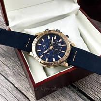 Часы оригинальные мужские наручные кварцевые Megalith 8086M Blue-Cuprum, фото 2