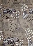Комплект постельного белья из полиэстера двуспальный Авто, фото 5