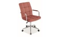 Кресло компьютерное Q-022 VELVET(Signal), фото 2