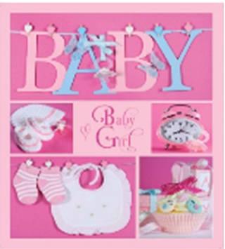 """Фотоальбом """"EVG"""" №BKM4656/6980/6997 10х15х56 Baby collage pink"""
