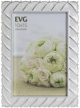 "Фоторамка сувенір. ""EVG SHINE"" 10х15см №AS54 white №5632(64)"