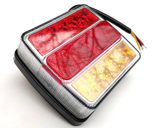 Комплект водонепроникних універсальних світлодіодних ліхтарів LED 12V, фото 2