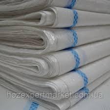 Мішок БАУЛ розмір 1х1,5метров, поліпропіленовий білий, фото 2