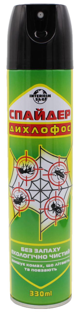 Дихлофос Спайдер Interhim универсальный без запаха 330 мл