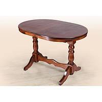 Стол обеденный Отаман орех 120 см (Микс-Мебель ТМ)