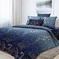 Комплект детского постельного белья Млечный путь, созвездия, знаки Зодиака, ткань  поплин, фото 1