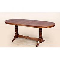 Стол обеденный Отаман орех 140 см (Микс-Мебель ТМ)