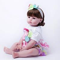 Кукла реборн 62 см девочка Эмилия