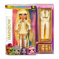 Кукла Рейнбоу Хай Санни Медисон Желтая Rainbow High Sunny Madison Yellow