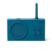 Колонка портативная Bluetooth c радио 3 Вт. темно-синяя Франция 410920