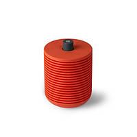 Переносная колонка-радиоприемник FM с Bluetooth красная Франция 410930