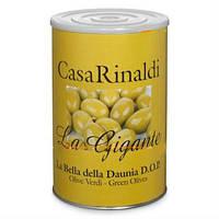 Оливки с косточкой Casa Rinaldi Гигантские зеленые GGG 4250г