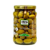 Оливки с косточкой Casa Rinaldi Гигантские зеленые GGG 1700 г