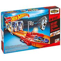Трек Hot wheels трек hot wheels гонки с прыжками супер-старт bgj24, Хот вилс Mattel