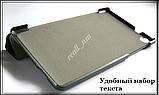 Голубой  tri-fold case чехол-книжка для планшета Asus Zenpad C 7.0 Z170C Z170CG эко кожа PU P01Y, фото 4
