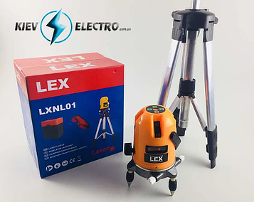 Уровень лазерный Lex LXNL01 (нивелир)