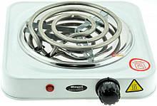 Электроплита 1 комфорка, спиральная, WimpeX WX-100B-HP, мощная плита AVE
