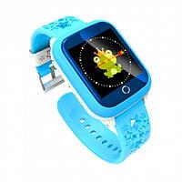 Детские смарт часы Smart Baby Watch ds28 голубой