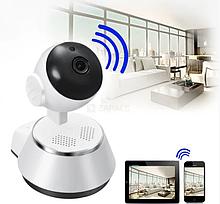 Камера видеонаблюдения WIFI Smart NET camera Q6, веб вай фай, Web камера онлайн wi-fi, с записью AVE