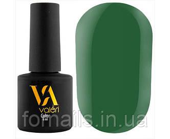 Гель-лак Valeri №098 (зеленый, эмаль), 6 мл