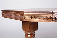 Стол обеденный Буковель орех (Микс-Мебель ТМ), фото 2