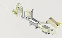 Линия брикетирования 0,8 т/ч (тип брикета - «NESTRO») 0.4-0.8 т.ч. / до - 65%