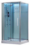 Гидромассажный паровой бокс EAGO DZ990F12 (левый, с белыми задними стенками), 1200х900х2350 мм