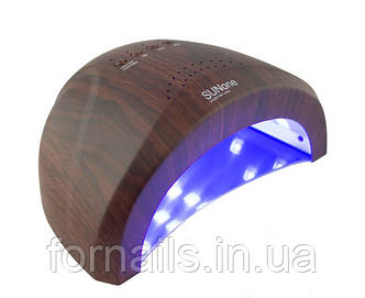UV/LED лампа SUN One 48 Вт, цвет: темное дерево