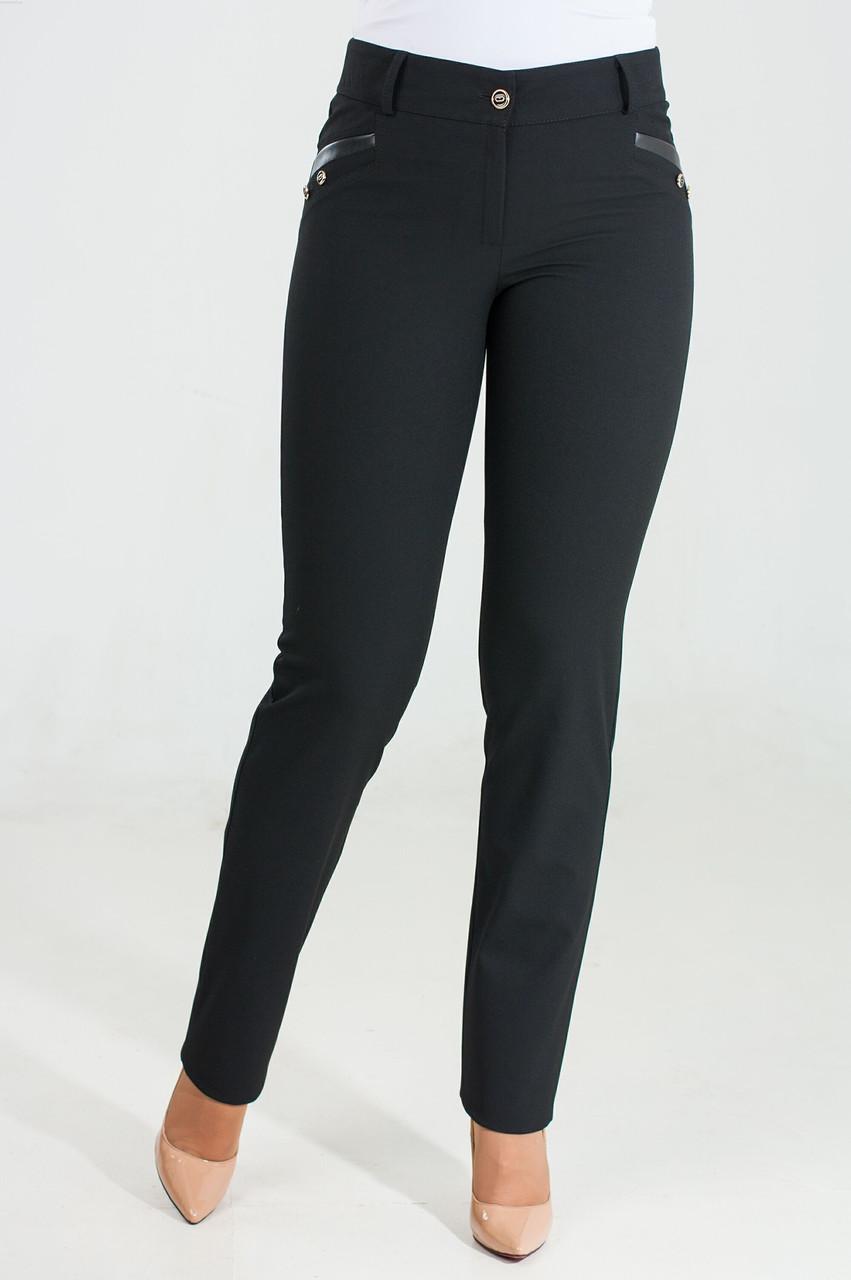 Женские брюки Милана черного цвета