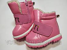 Ботинки для девочки Зима 24 р 15 см