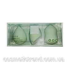 Набор косметических спонжей для нанесения макияжа  (3 шт/комплект)