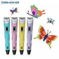 3D ручка 3D pen-2 для детей Ручка для рисования с экраном