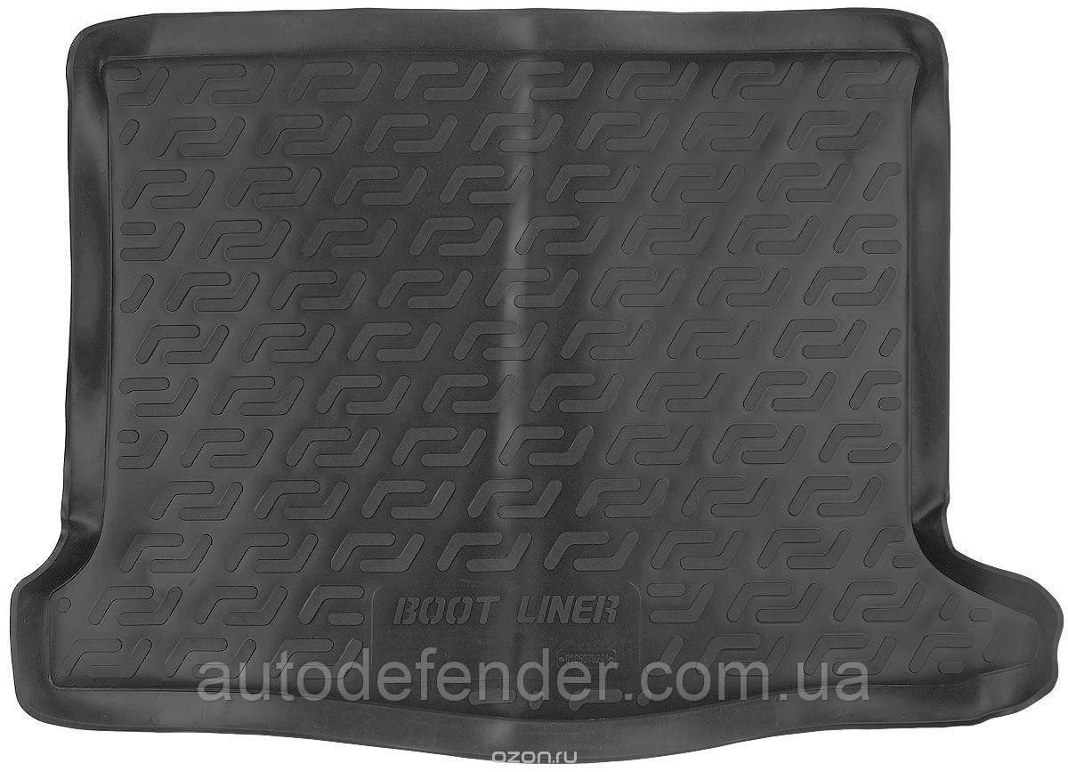Килимок в багажник для Renault Sandero / Stepway 2013-, резино/пластиковий (Lada Locker)
