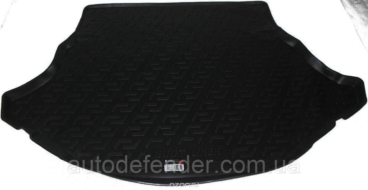 Килимок в багажник для Toyota Venza 2010-16, резино/пластиковий (Lada Locker)