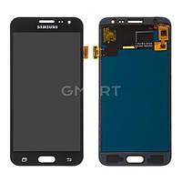 Дисплей для Samsung J320H/DS Galaxy J3 2016 черный (TFT экран, тачскрин, стекло в сборе)