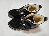 Черевики для дівчинки зимові 29 р 16.5 см, фото 3