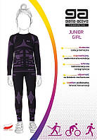 Комплект термо белья для девочки GATTA THERMO JUNIOR GIRL, размеры 110-116 ,122-128, 134-140